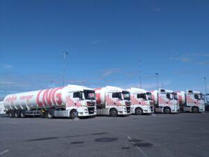 Elenger LNG trailers
